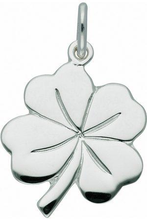 Adelia´s Kette mit Anhänger »925 Anhänger Kleeblatt - Set mit Halskette«, 925 Sterling Silberschmuck für Damen