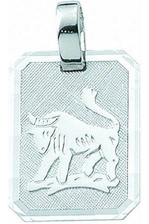Adelia's Kette mit Anhänger »925 Sternzeichen Anhänger Stier - Set mit Halskette«, 925 Sterling Silberschmuck für Damen & Herren