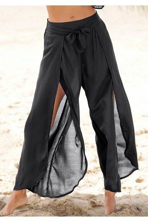 s.Oliver Strandmode - Strandhose mit hohen Beinschlitzen