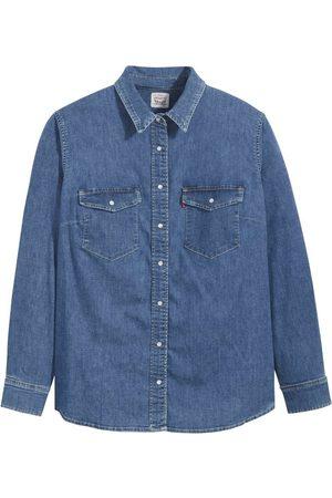 Levi's Jeansbluse »Essential Western« mit zwei Brusttaschen und Druckknöpfen
