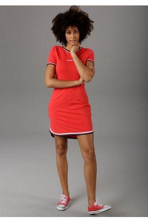 Aniston Jerseykleid mit raffiniertem Saum - NEUE KOLLEKTION