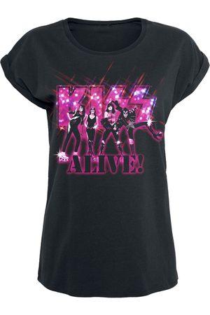 Kiss Alive Pink Glitter T-Shirt