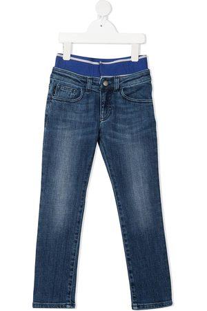 Emporio Armani Jungen Cropped - Jeans mit Stretchbund