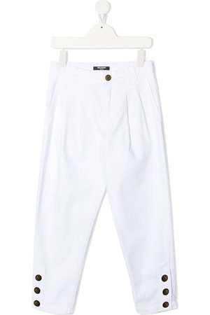 Balmain Hoch sitzende Slim-Fit-Jeans