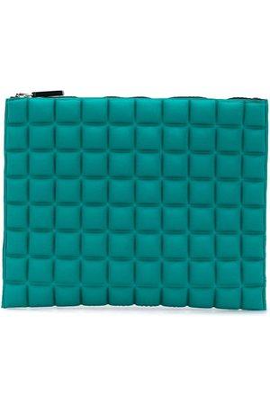 No Ka' Oi Portemonnaie mit geometrischem Muster