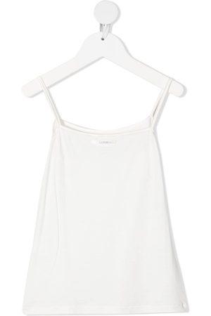 La Perla Mädchen Unterhemden & Unterziehshirts - Camisole-Top mit Satinbesatz