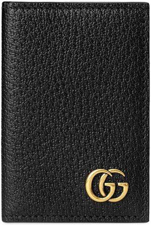 Gucci Kartenetui mit Logo-Schild