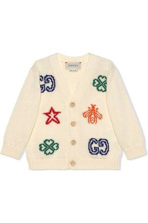 Gucci Intarsien-Cardigan