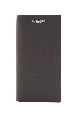 Saint Laurent Logo-print Leather Continental Wallet