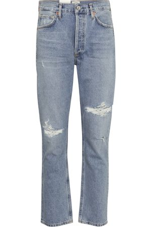Citizens of Humanity High-Rise Straight Jeans Charlotte