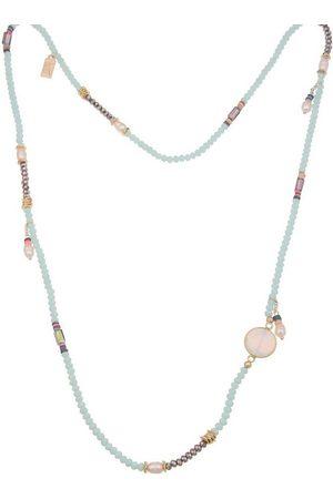 Leslii Kette ohne Anhänger »Perlenspiel«, mit geschliffenen Glas-Perlen