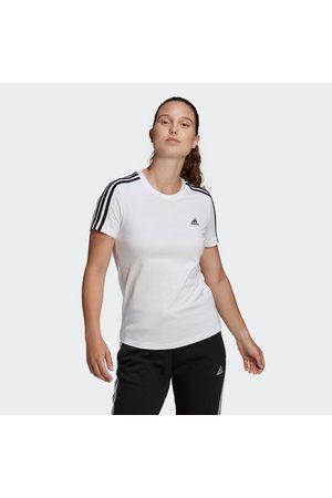 adidas T-Shirt »ESSENTIALS SLIM 3-STREIFEN«