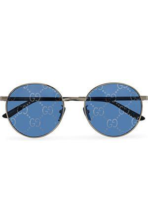 Gucci GG0944SA Sunglasses Silver/Blue