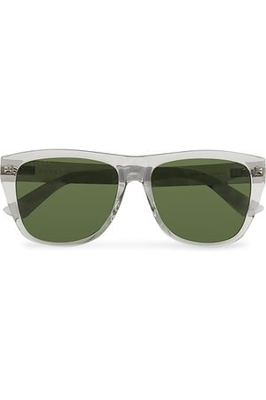 Gucci GG0926S Sunglasses Grey/Green