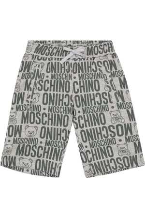 Moschino Shorts aus Stretch-Baumwolle