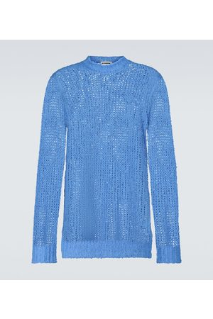Jil Sander Strickpullover - Pullover aus Leinen