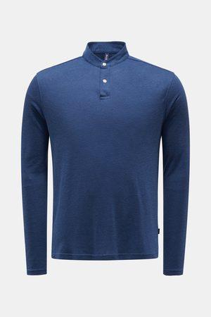 04651/ Herren - Henley-Shirt dunkelblau