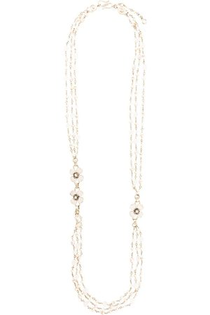 Goossens Halskette mit Kleeblatt
