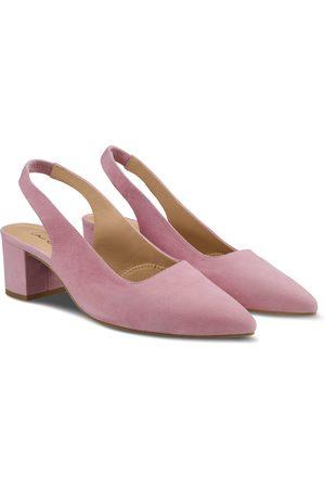 LaShoe Sling Pumps Spitz Violett 36