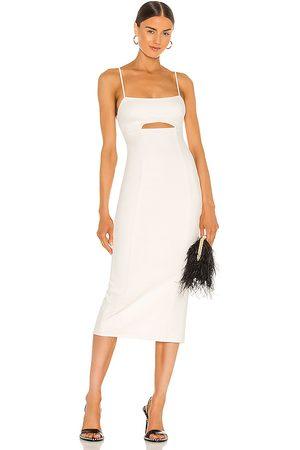 h:ours Enzo Midi Dress in . Size M, S, XL, XS, XXS.