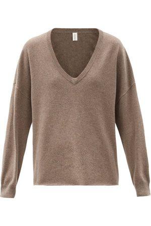 EXTREME CASHMERE Damen Sweatshirts - No.161 Clac V-neck Stretch-cashmere Sweater