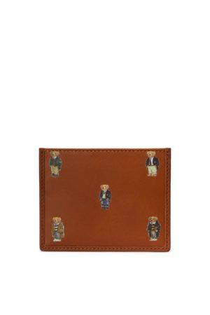 Polo Ralph Lauren Kartenetui aus Leder mit Polo Bear