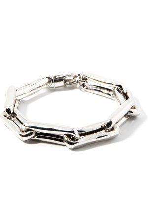 Lauren Rubinski Square-link Xl 14kt White- Bracelet
