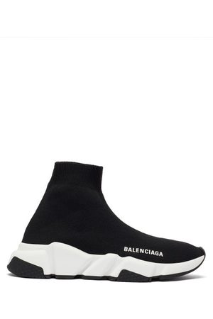 Balenciaga Speed Recycled-knit Trainers