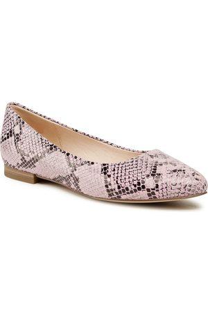 Caprice Damen Halbschuhe - 9-22104-26 Pink Snake 557