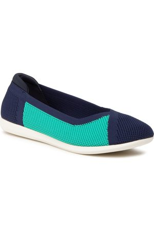 Clarks Carly Wish 261585864 Navy Combi