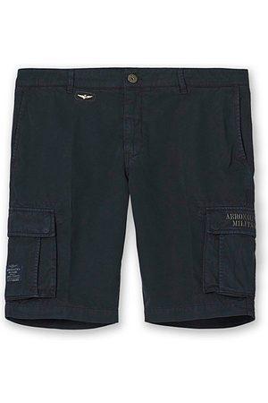 AERONAUTICA Herren Shorts - BE066 Cargo Shorts Blue Black