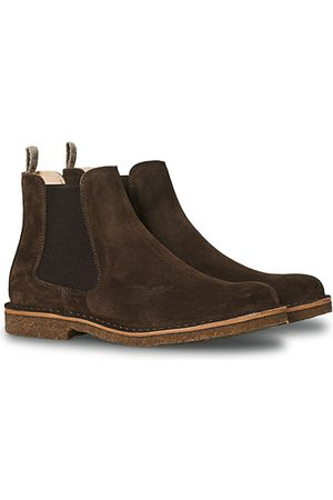 Astorflex Bitflex Chelsea Boot Dark Brown Suede