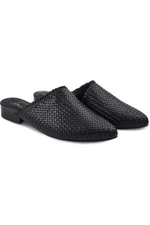 LaShoe Damen Clogs & Pantoletten - Premium Mule geflochten 36