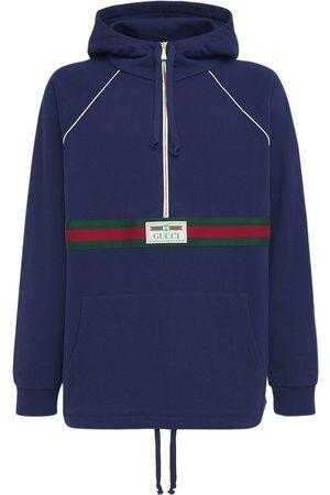 Gucci Hoodie Aus Baumwolle Mit Logo
