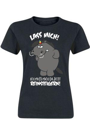 Pummeleinhorn Grummeleinhorn - Lass mich! Ich muss mich da jetzt reinsteigern! T-Shirt