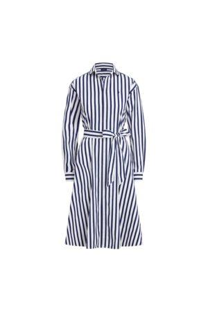 Polo Ralph Lauren Gestreiftes Hemdkleid aus Baumwolle
