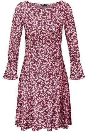 Laura Scott Damen Freizeitkleider - Jerseykleid mit Volant am Ärmel - NEUE FARBEN