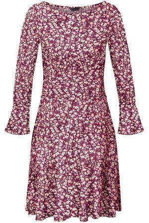 Laura Scott Damen Freizeitkleider - Jerseykleid mit Volant am Ärmel - NEUE KOLLEKTION