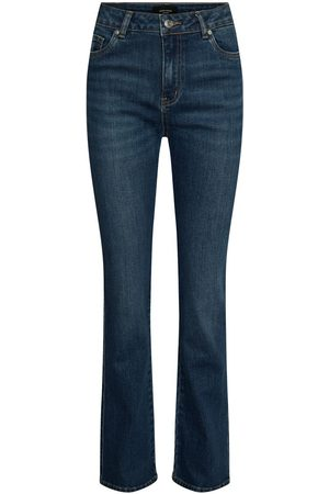 Vero Moda Vmsaga High Waisted Flared Jeans Damen