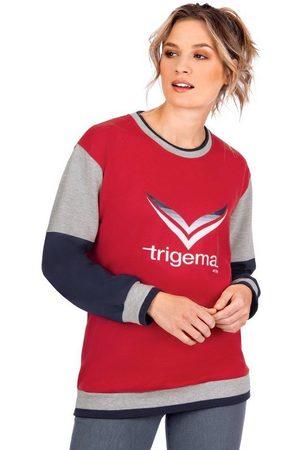 Trigema Damen Shirts - Sweatshirt mit -Logo