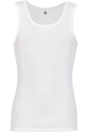 Trigema Herren Unterhemden und Unterziehshirts - Unterhemd, Doppelripp im Doppelpack