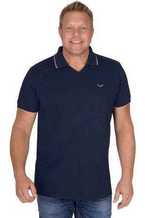 Trigema Poloshirt mit V-Ausschnitt