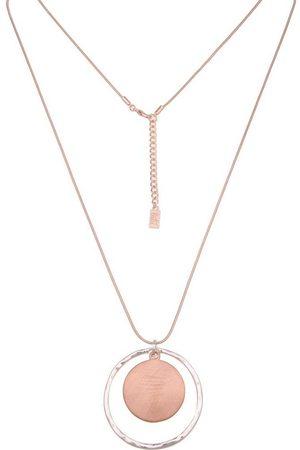 Leslii Halsketten - Kette mit Anhänger, mit runden Anhängern