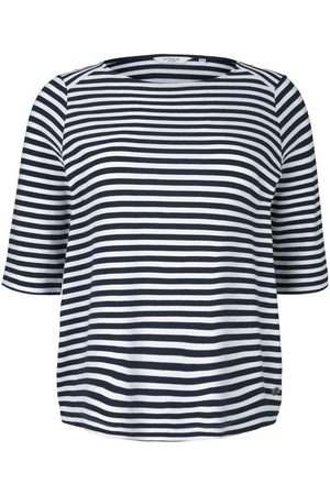 TOM TAILOR MY TRUE ME Damen Sweatshirts - Sweatshirt mit Streifen
