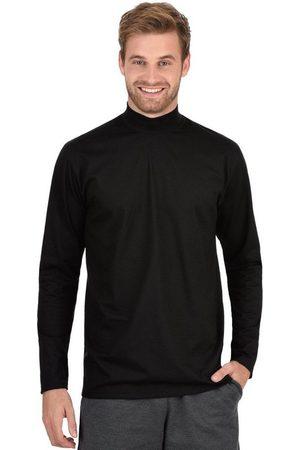 Trigema Langarmshirt mit Stehkragen