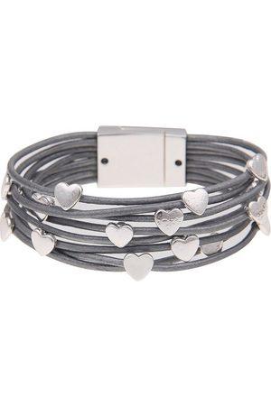 Leslii Armband »Glanz Herzen«, mit glänzenden Herzen