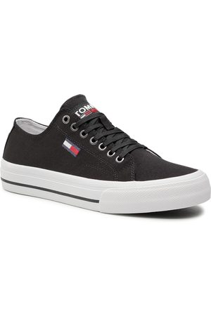 Tommy Hilfiger Long Lace Up Vulc EM0EM00659 Black BDS