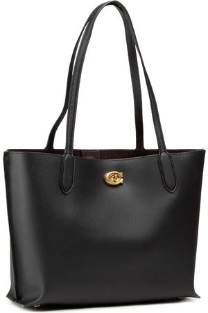 Coach Pbbl Willow Tote C0689 B4/BK B4/Black