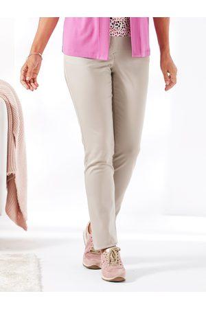 Avena Damen Stretch-Hose einfarbig