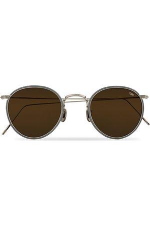 Eyevan 7285 Herren Sonnenbrillen - 717W Sunglasses Silver